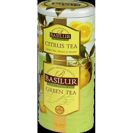 CITRUS TEA & GREEN TEA