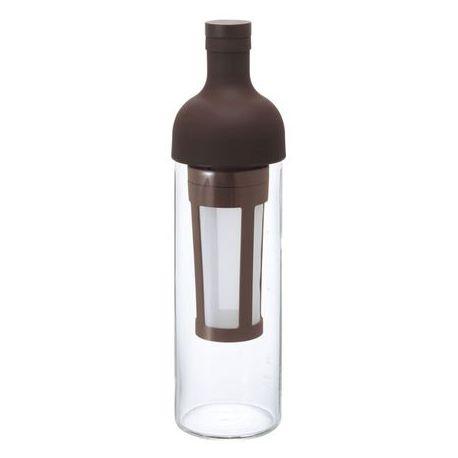 Hario Cold Brew Coffee - butelka z filtrem brązowa