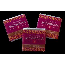 Monbana Czekoladka - Lait - Cereales