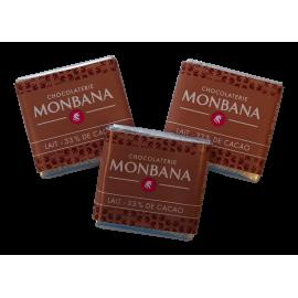 Monbana Czekoladka - Lait - 33% de cacao
