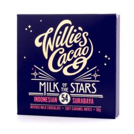 Willie's Cacao - Czekolada 54% - Milk of the Stars Indonezja 50g