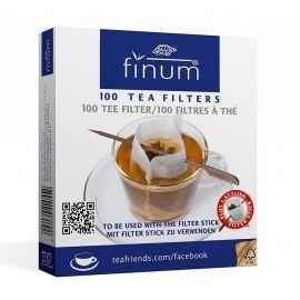 Finum - filtry papierowe M + szpadka