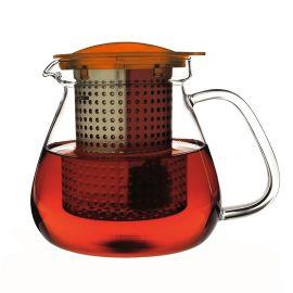 Finum - Dzbanek Tea Control 1l Pomarańczowy