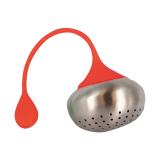 Zaparzacz stalowy z silikonowym uchwytem - BULWA