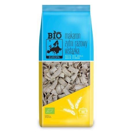 Bio Europa - Ekologiczny makaron żytni razowy wstążki - 400 g