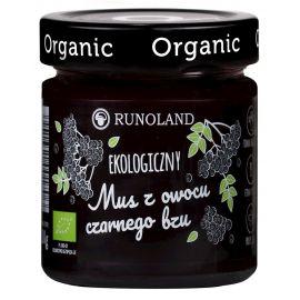 Mus z owocu czarnego bzu - 200 g - RUNOLAND