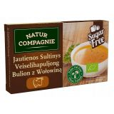 Natur Compagnie - bulion z wołowiną BIO - kostki - 96 g