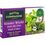 Natur Compagnie - bulion warzywny z ziołami BIO - kostki - 80 g