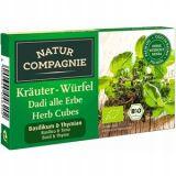 Natur Compagnie - bulion ziołowy z bazylią i tymiankiem BIO - kostki - 80 g
