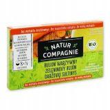 Natur Compagnie - bulion warzywny bez ekstraktu drożdżowego BIO - kostki - 88 g