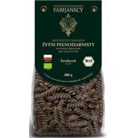 Fabijańscy - Fusilli - ekologiczny makaron żytni pełnoziarnisty - 300 g
