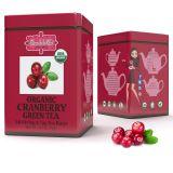 ORGANIC CRANBERRY GREEN TEA - w saszetkach 50 x 1,5 g