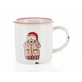 Kubek ceramiczny - COFFEE FIRST - 310 ml