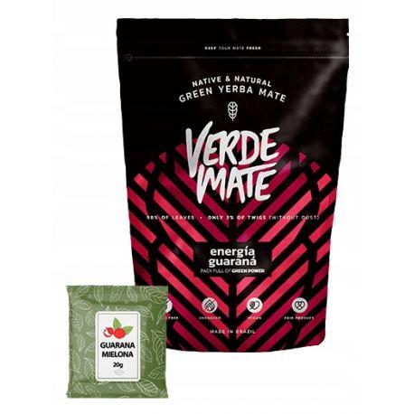 Verde Mate - Yerba Mate Energia Guarana + guarana mielona 500 / 20 g