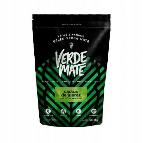 Verde Mate - Green Yerba Mate Cactus de Juarez - 500 g