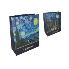 Torba prezentowa średnia - Van Gogh Starry Night - 26x32x12 cm