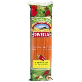 Divella - makaron Spaghetti z pikantną papryką - 500 g