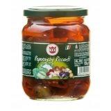 Delizia - pikantne papryczki w oleju słonecznikowym - 550 g