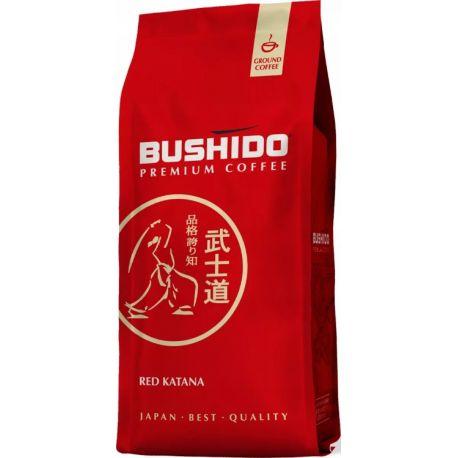 Bushido Premium Coffee - Red Katana - kawa mielona - 227 g