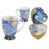 Komplet 2 kubków - Vincent Van Gogh Starry Night - 280 ml
