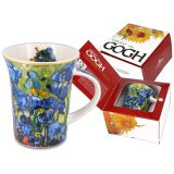 Porcelanowy kubek Classic New - Vincent van Gogh - Irysy - 350 ml