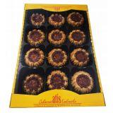 Cukiernia Atis - kruche ciasteczka z dżemem - Pawie Oczka - 320 g