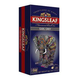 KINGSLEAF - Earl Grey - w saszetkach - 25 x 2 g