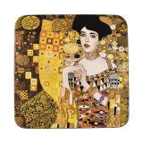 Podkładka korkowa - G. Klimt Adele Bloch - 10,5 x 10,5 cm