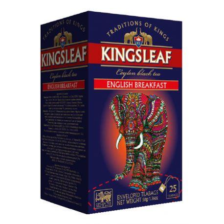 KINGSLEAF - English Breakfast - w sasz. kopertowanych 25 x 2 g