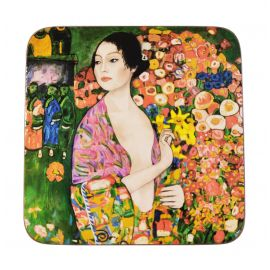 Podkładka korkowa - G. Klimt The Dancer - 10,5 x 10,5 cm