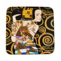 Podkładka korkowa - G. Klimt Expectation - 10,5 x 10,5 cm