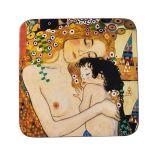 Podkładka korkowa - G. Klimt Three Ages of Woman - 10,5 x 10,5 cm