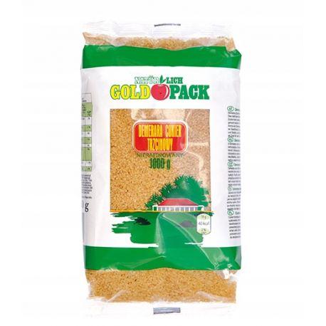 Nierafinowany cukier trzcinowy - Naturlich Goldpack - 1000 g
