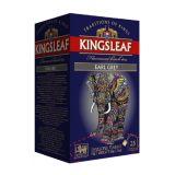 KINGSLEAF - Earl Grey - w sasz. kopertowanych - 25 x 2 g