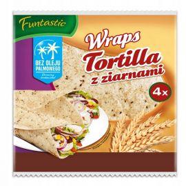 Funtastic - Wraps Tortilla z ziarnami - 250 g