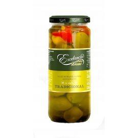 Excelencia - oliwki zielone w stylu hiszpańskim - 320 g