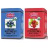 2 za 1 - Brew La La - ORGANIC BLUEBERRY i ORGANIC STRAWBERRY - w saszetkach 50 x 1,5 g