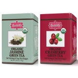 2 za 1 - Brew La La - ORGANIC JASMINE i ORGANIC CRANBERRY - w saszetkach 50 x 1,5 g