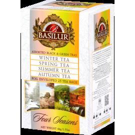 Mieszanka/Assorted BLACK & GREEN TEAS w saszetkach 25x2g/1,5g