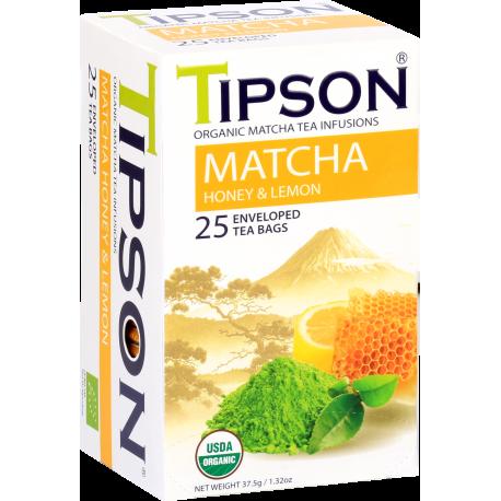 Matcha Honey Lemon 25 saszetek