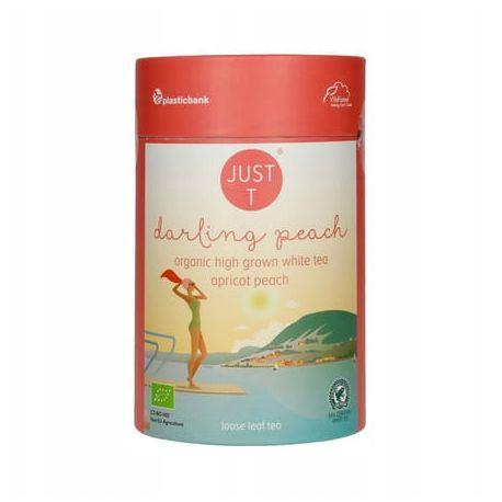 Ekologiczna herbata biała Darling Peach - 80 g - Just T
