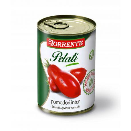 Torrente - ekologiczne włoskie pomidory Pelati - 400 g