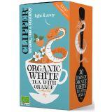 CLIPPER - EKOLOGICZNA biała herbata z pomarańczą - 20 x 1,7 g
