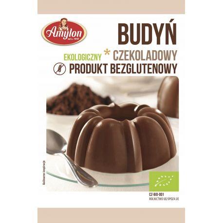 Amylon - ekologiczny budyń czekoladowy bezglutenowy - 40 g