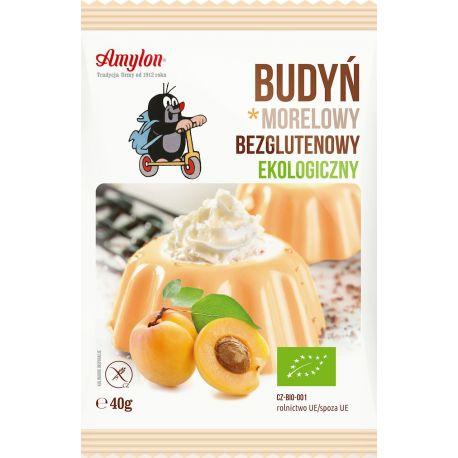 Amylon - ekologiczny budyń morelowy bezglutenowy - 40 g