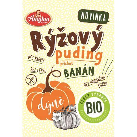 Amylon - ekologiczny budyń ryżowy bananowy - 40 g