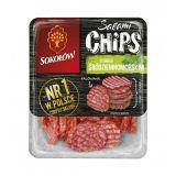 Sokołów - Salami Chips o smaku śródziemnomorskim - 60 g