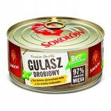 Sokołów - Gulasz Drobiowy - 300 g