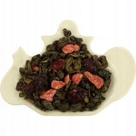 Herbata zielona z żurawiną, truskawką, marakują, melonem - 50 g