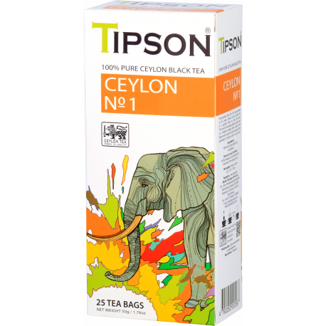 CEYLON NR 1 w saszetkach 25x2g